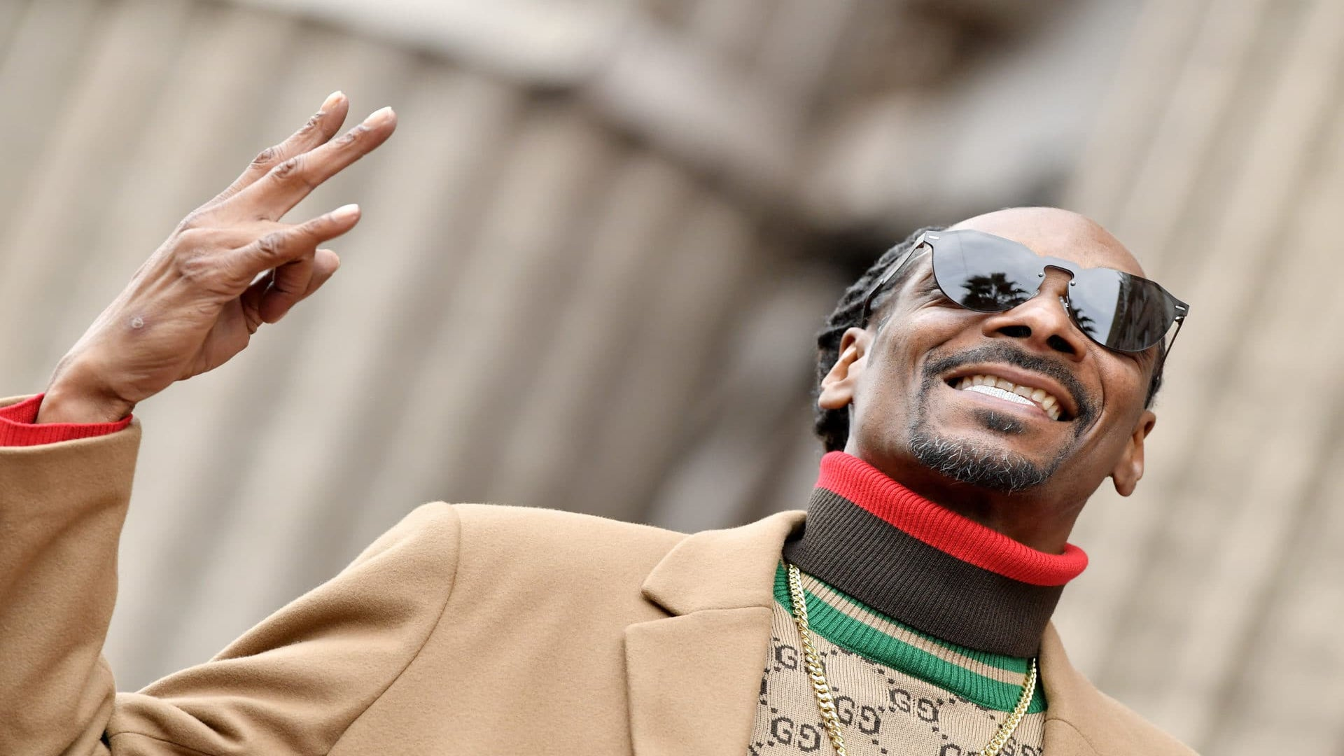 Snoop Dogg Thanks Himself While Receiving His Star On The Walk Of Fame