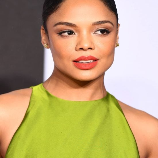 Isn't She Lovely?! Tessa Thompson Slays In Green Dress At 'Creed II' UK Premiere