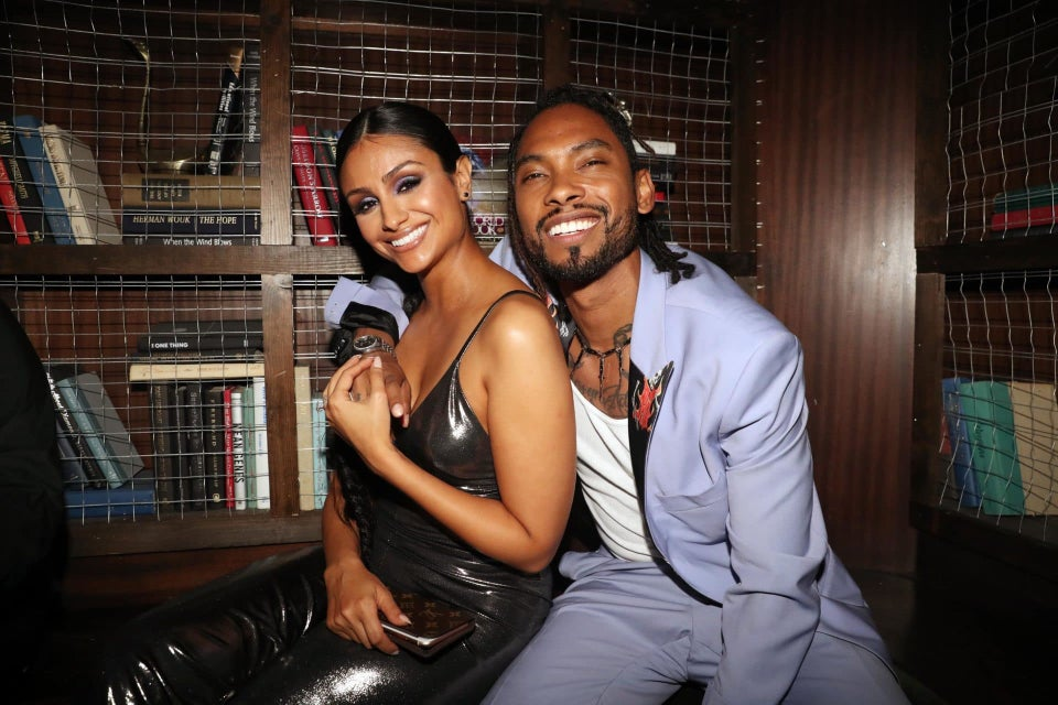 Miguel And Longtime Love Nazanin Mandi Tie The Knot In Beautiful Ceremony