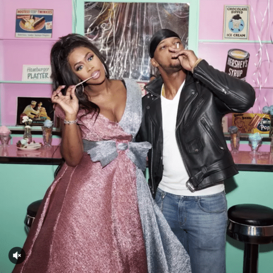 Too Cute! Remy Ma And Papoose's 1950s-Inspired 'Grease' Baby Shower Was Everything