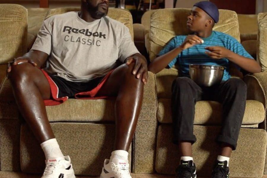 Watch Shaquille O'Neal And Jay Versace Hilariously Reminisce On Shaq's Classic Reebok Style