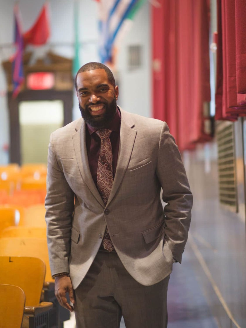 Brandon Frame Wants To Help Black Boys Become The Men Our Communities Need