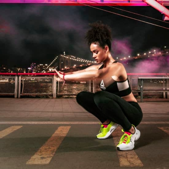 'Game Of Thrones' Beauty Nathalie Emmanuel Stars In Launch Campaign For Reebok's 'Sole Fury' Sneaker