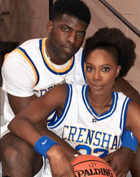 Aww! Yvonne Orji and Her Bae Dressed Up As 'Love and Basketball's Quincy and Monica For Halloween