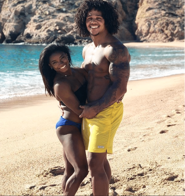 Simone Biles and Her Boyfriend Are On An Epic Baecation