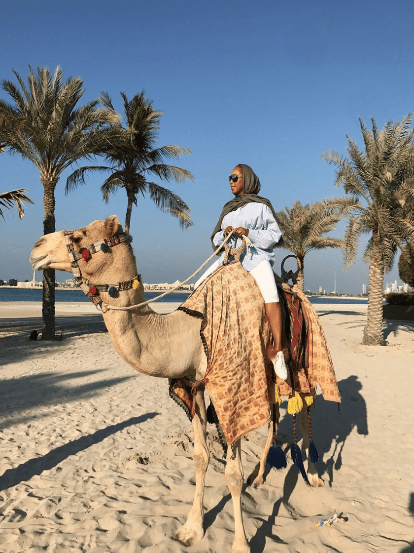 Holiday Slay! Marjorie Harvey Living Her Best Life in Abu Dhabi Will Cure Your Monday Blues