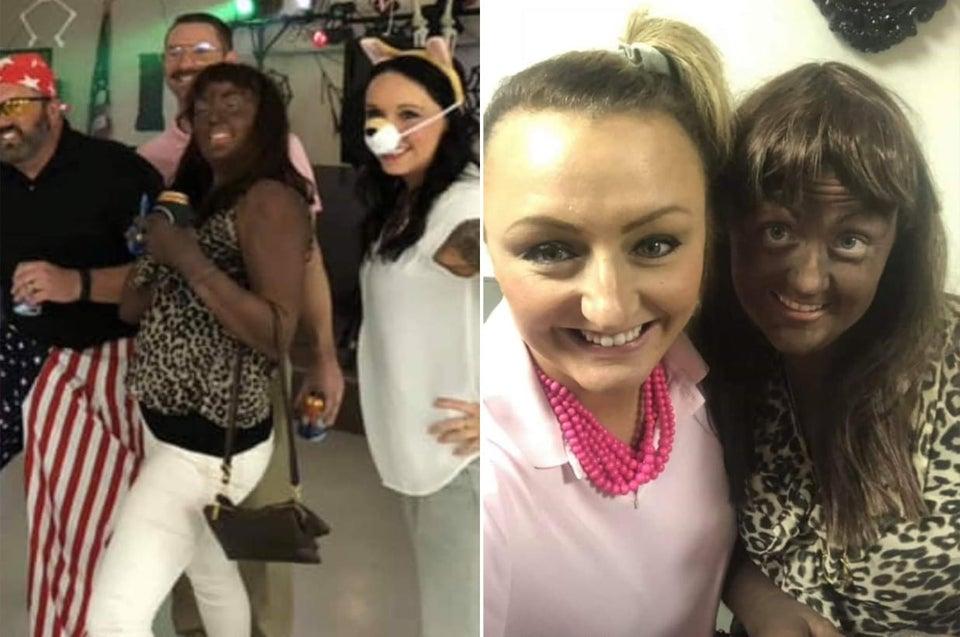 1st Grade Teacher Photographed Wearing Blackface Apologizes, Claims She Had Never Heard The Term
