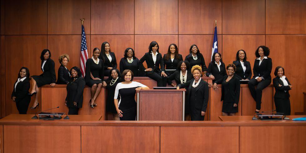 HarrisCounty, Texas, Just Swore In An Unprecedented Number of Black Women Judges