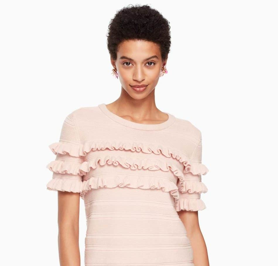 It's Sweater Weather And Ruffled Knits Are In! Shop These Finds For Under $100.
