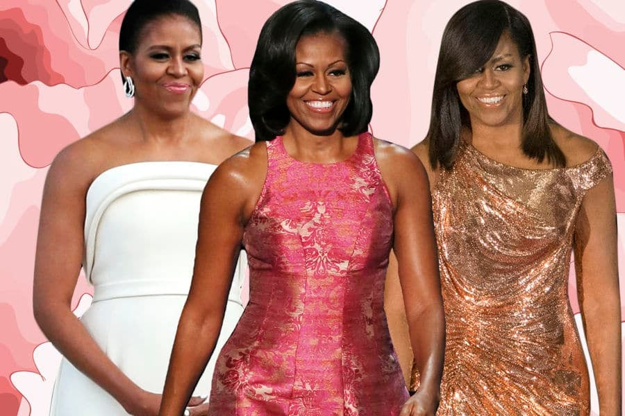 'Becoming' A Style Icon: 21 Times Michelle Obama's Fashion Sense ...
