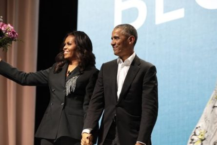 Michelle Obama Brought Out President Obama On Washington D.C. Book Tour Stop — And It Was Everything! - Essence