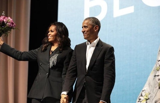 Michelle Obama Brought Out President Obama On Washington, D.C., Book Tour Stop—And ESSENCE Was There!