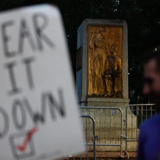 North Carolina Graduate Student Faces Charges After Protesting University's Plan To Return Confederate Statue To Campus