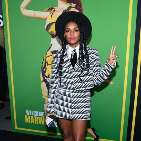 Janelle Monáe, Angela Bassett, Lenny Kravitz, And More Celebs Out And About