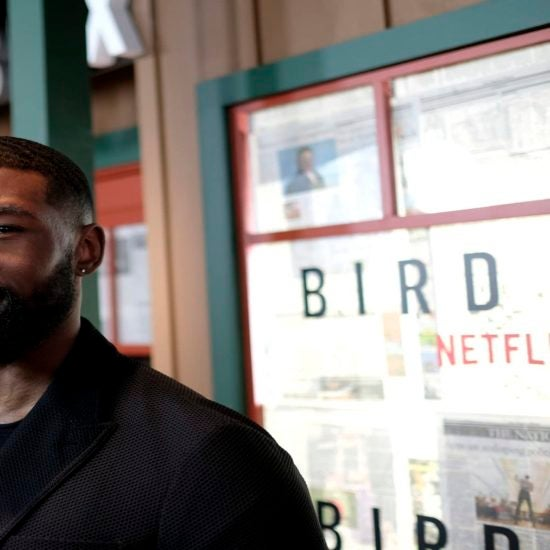 Watch'Bird Box' Stars Trevante Rhodes And Lil' Rel Share Their Greatest Fears And How They Got Over Them