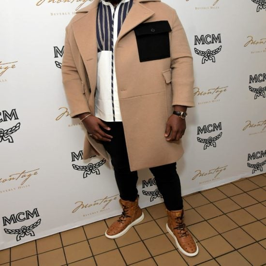Winston Duke, Trevante Rhodes, Vivica A. Fox, And More Celebs Out And About