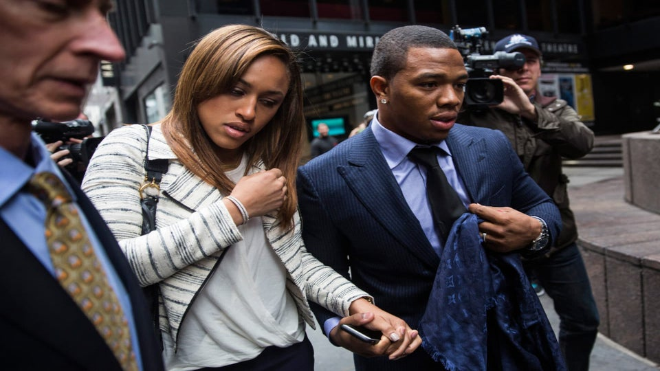 Ray Rice Wants To Help The NFL With Its Domestic Violence Issues