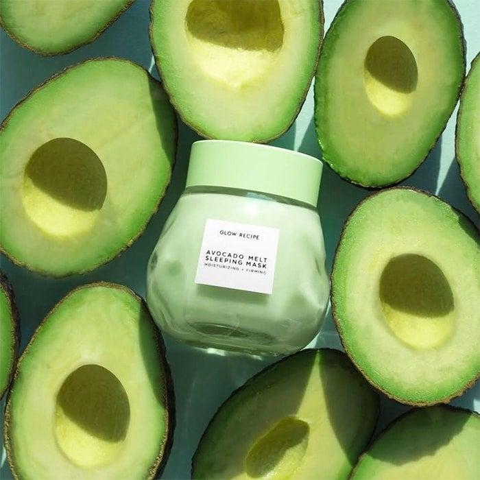 Worth the Hype? I Reviewed the Glow Recipe Avocado Melt Sleeping Mask