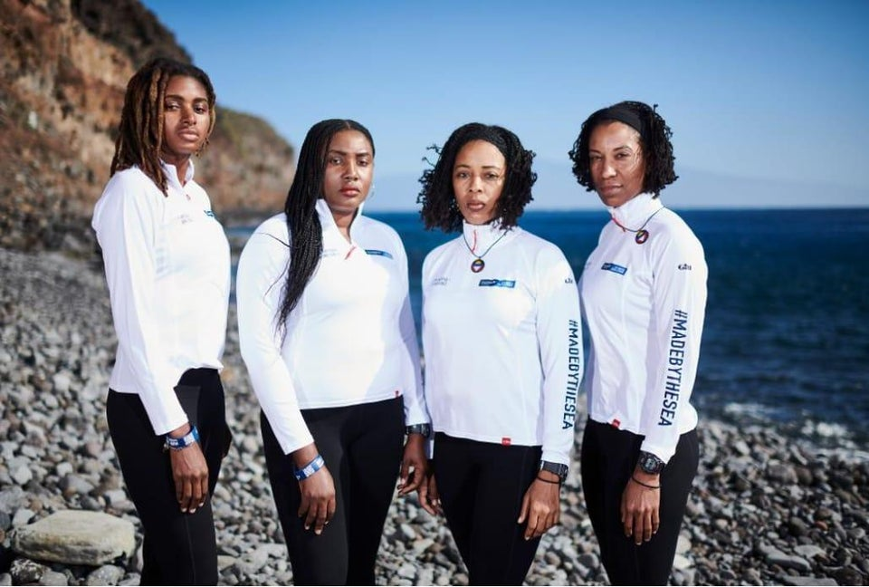 This Team Of Black Women Rowers Is Making History In A Big Way