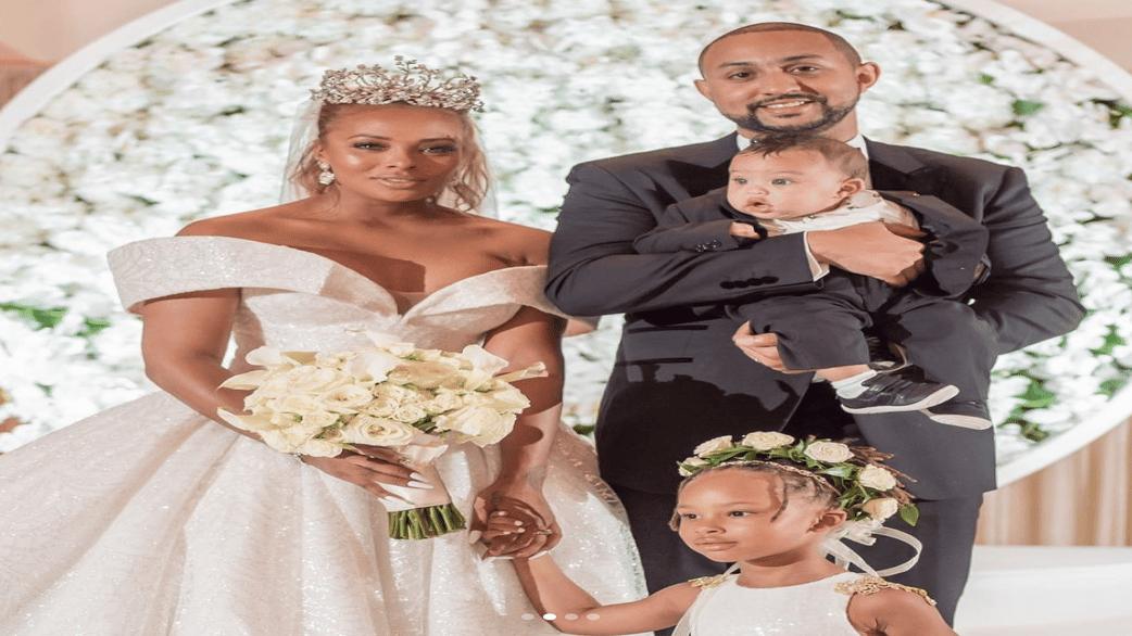 Inside Eva Marcille's $350,000 Fairy-Tale Wedding