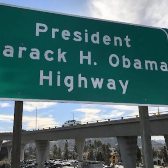 Stretch Of California Highway Now Named After Barack Obama