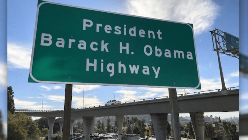 Stretch Of California Highway Now Named After Barack Obama