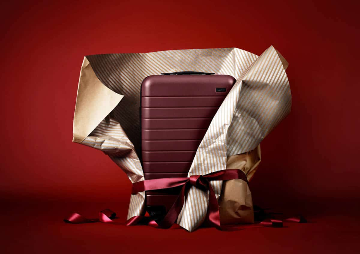 This Carry-On Suitcase is the Perfect Gift for the Stylish Jetsetter in Your Life