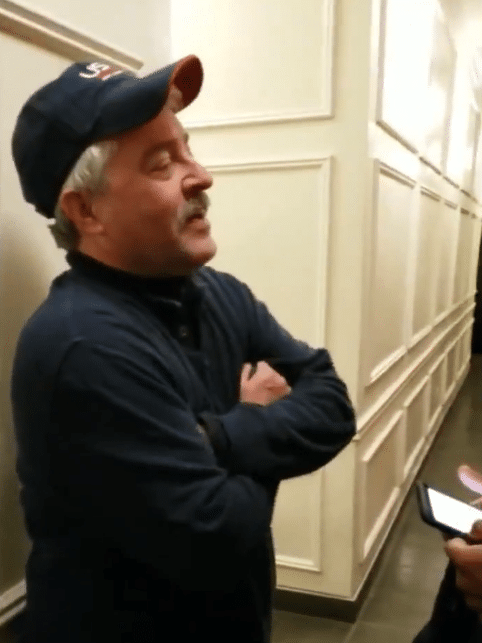 Here We Go Again! 'Hallway Harry' Demands Black Neighbor Prove He Lives In The Building