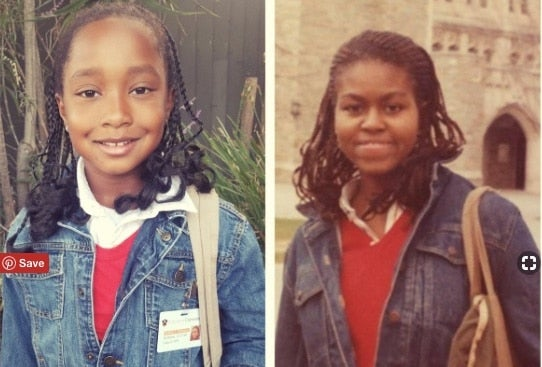 This 8-Year-Old Girl Dressed Up As A Young Michelle Obama — And Killed It!