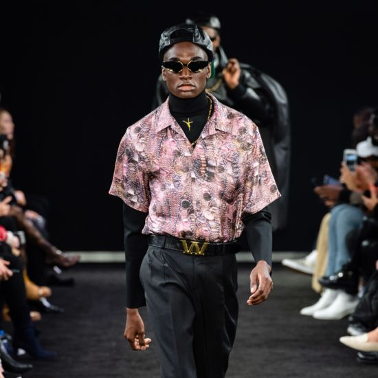 Social Media Star Rickey Thompson Werks The Catwalk For Alexander Wang