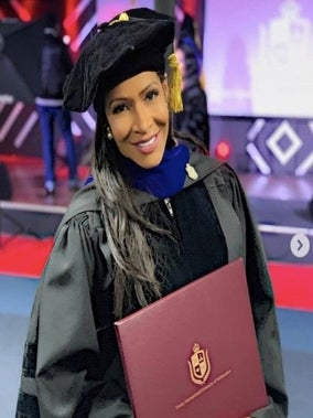 Dr. She By Sheree! Sheree Whitfield Receives Honorary Doctorate