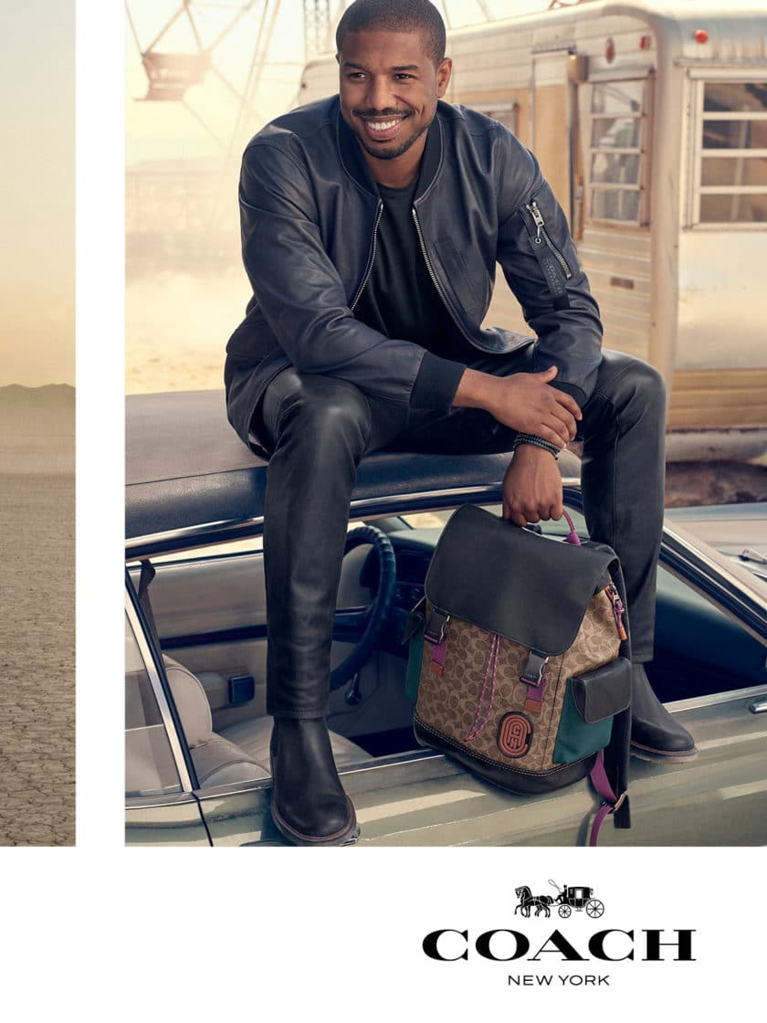 Bae Is Back! Michael B. Jordan Stars In His First-Ever Men's Campaign For Coach