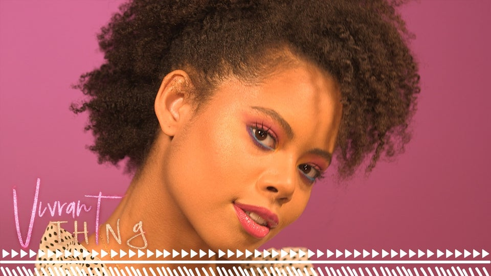 Watch 'Vivrant Thing': Use Several Of Your Favorite Colors To Create This Color Pop Eyeshadow