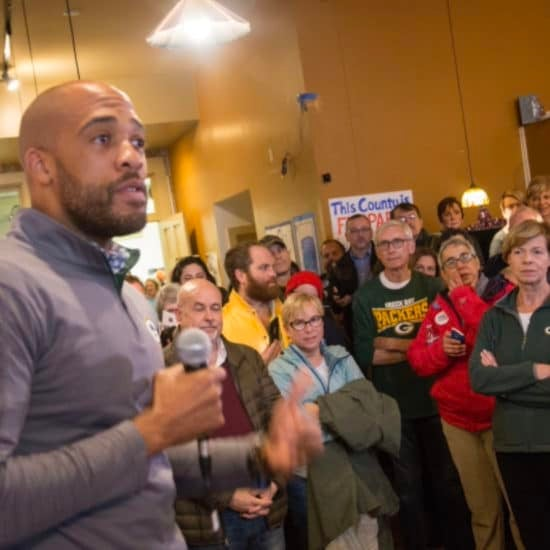 Mandela Barnes Makes History As Wisconsin's First Black Lieutenant Governor