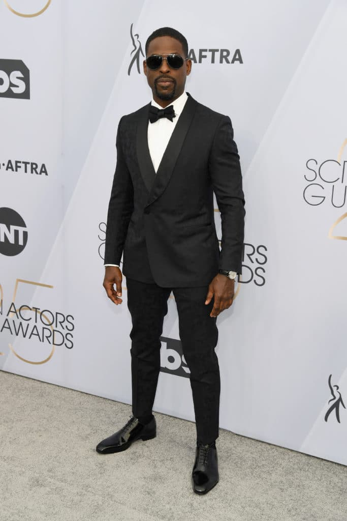 Sterling K. Brown attends the 2019 SAG Awards