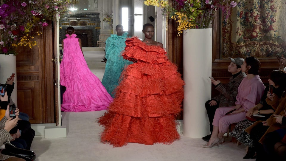 Valentino's Haute Couture Show Included 43 Black Models—Including Naomi Campbell