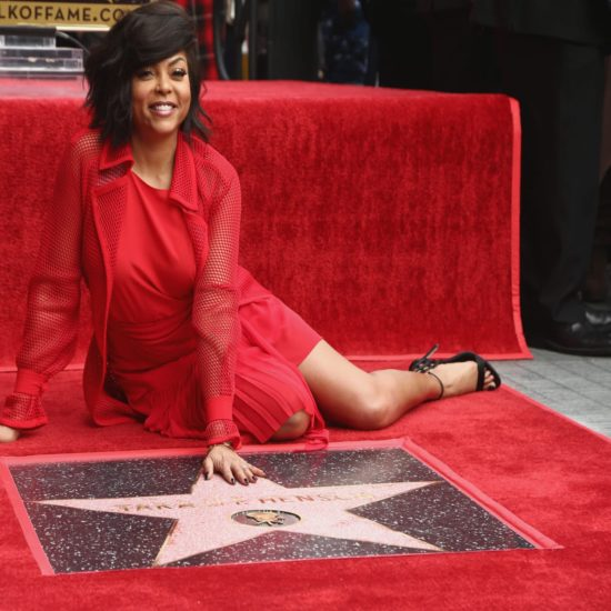 A Shining Star! Taraji P. Henson Gets Star On Hollywood Walk Of Fame