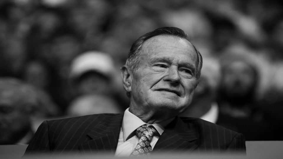 People Are Questioning Why Hampton University Honored George H.W. Bush With A Statue On Campus