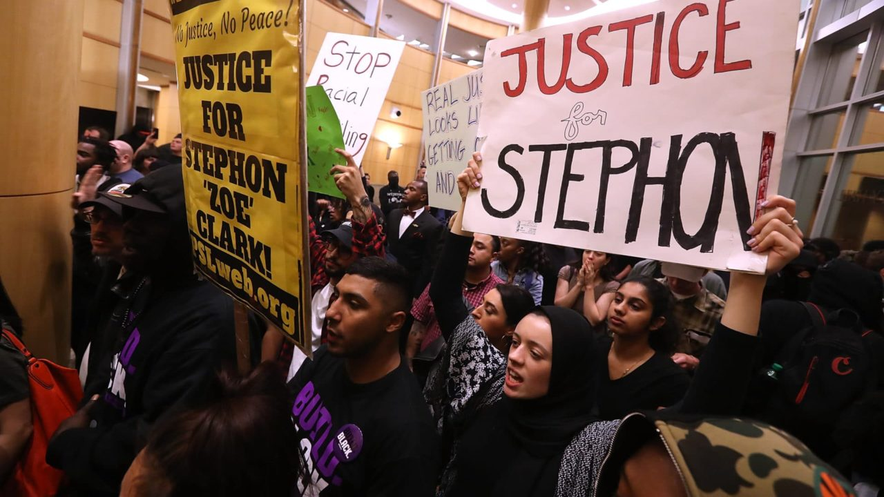 Stephon Clark's Family Files Federal Civil Rights Lawsuit Seeking At Least $20 Million