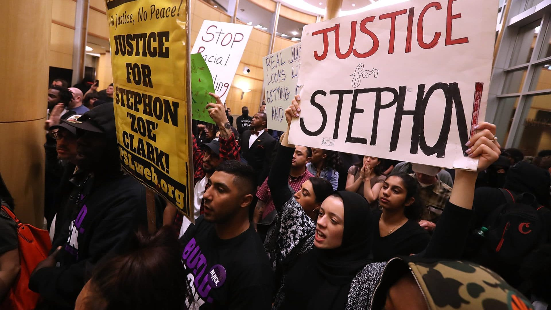 Outrage Over Stephon Clark Protest Arrests Disrupts Sacramento City Council Meeting