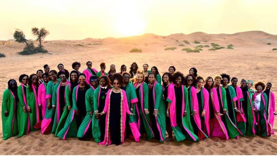 Global Sisterhood! 18 Times Black Women Showed Sorority Love Around the World