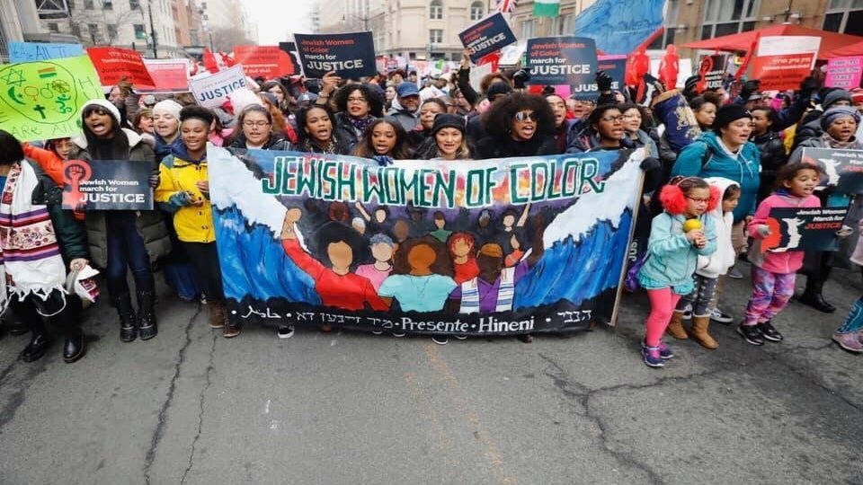Opinion: Why These Jewish Women Of Color Marched In The Women's March