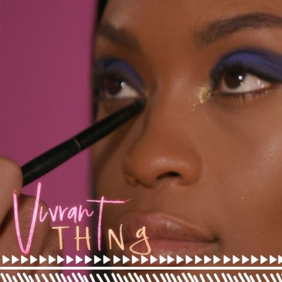 Watch 'Vivrant Thing': Recreate This Ultimate Bold Blue Look