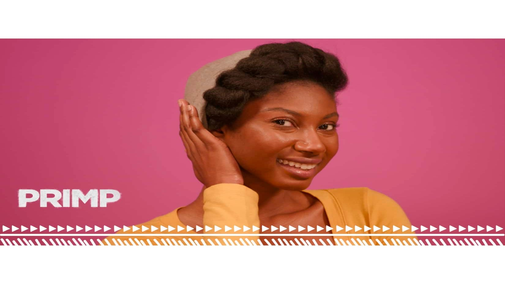 Watch 'PRIMP': Learn A Few Stylish Ways To Wear Your Natural Hair Underneath Your Hat