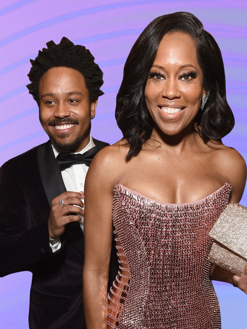 Regina King's Son Says She's A 'Super Mom' Who Doesn't Let Her Work Affect Their Bond