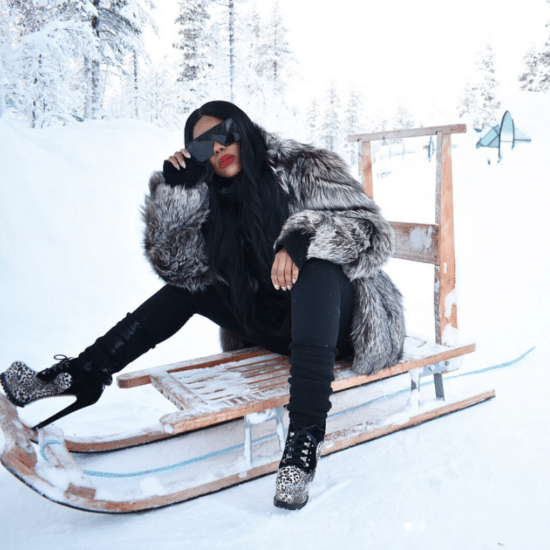 10 Times Black Women Brought the Heat to Cold Weather Getaways