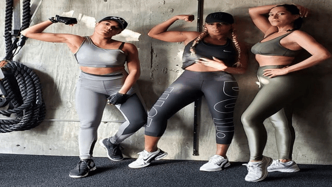 Goals! Gabrielle Union and Her Workout Buddies Tracee Ellis Ross and Mary J. Blige Prove Health Is Wealth