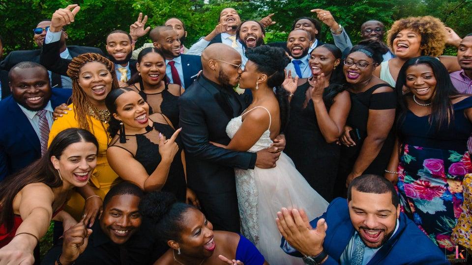 Bridal Bliss: Simone and Sean's Poconos Wedding Was Epic