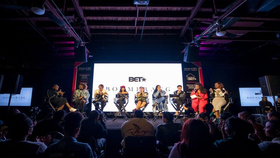 The Ladies of BET's 'Boomerang' Drop Some Serious Black Girl Magic Gems