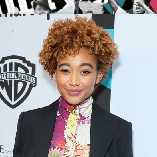 Amandla Stenberg Pays Homage to Her Grandmother In Her Emotional Black Women In Hollywood Speech